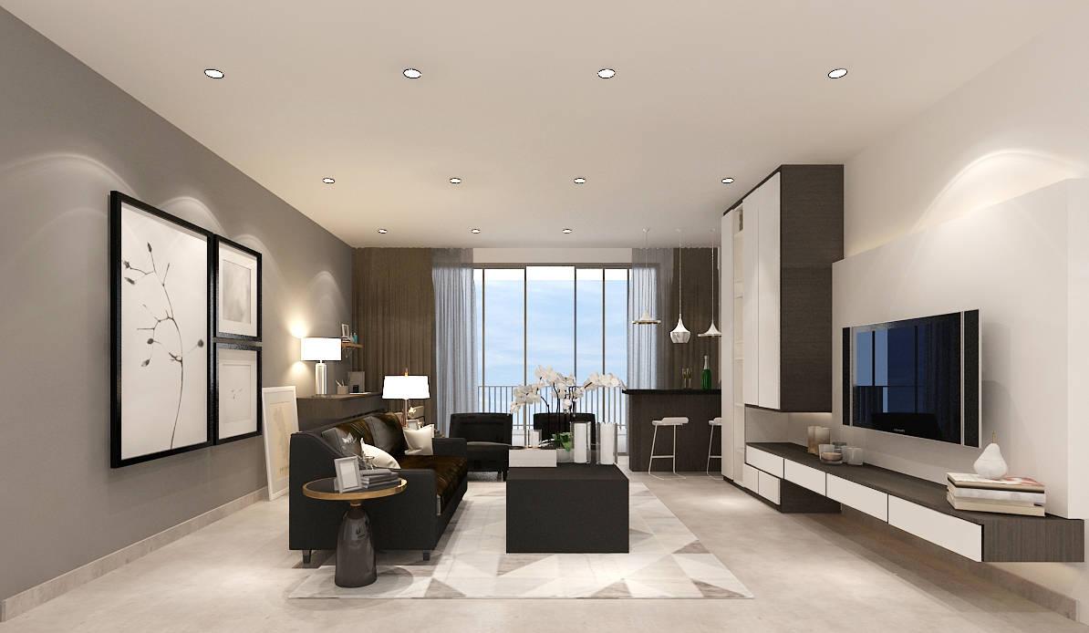 Living Room – Fusion Concept Interior Design