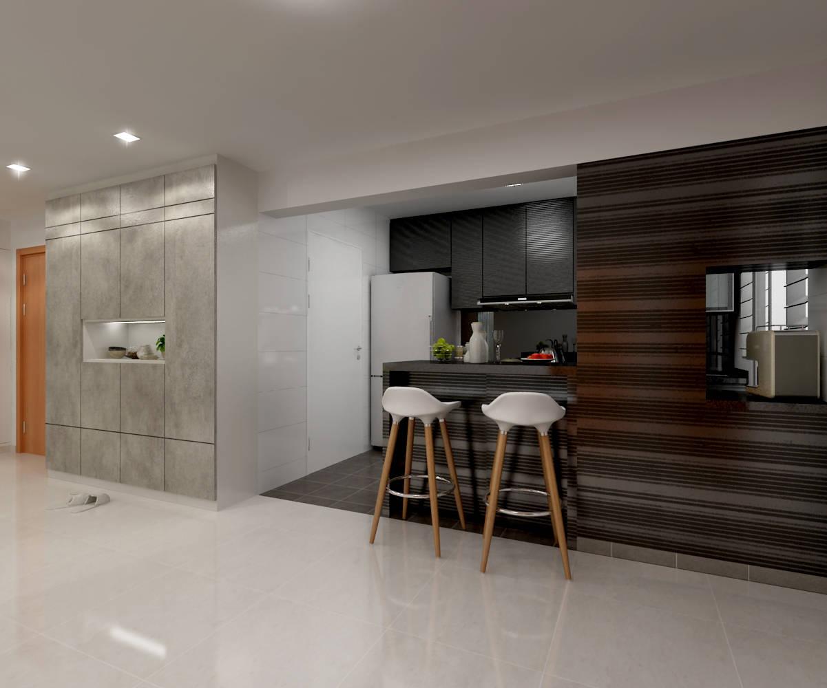Kitchen Fusion Concept Interior Design